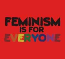Feminism is for everyone One Piece - Long Sleeve