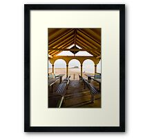 Nobby's Beach Newcastle  Framed Print