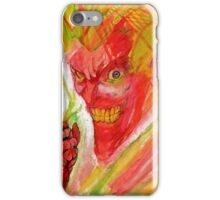 The Maniac  iPhone Case/Skin
