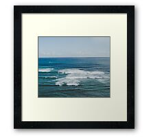 Sea Me  Framed Print