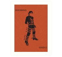 hwoarang Art Print
