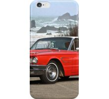 1965 Ford Thunderbird Hardtop iPhone Case/Skin