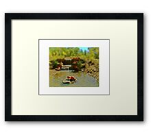 An Afternoon In Autumn Framed Print