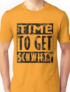 Rick and Morty Get Schwifty Lyrics Print Unisex T-Shirt