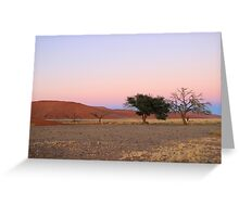 Sossusvlei Greeting Card