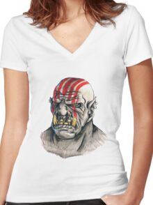 orc Women's Fitted V-Neck T-Shirt