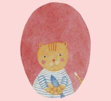 Sailor cat Kids Tee
