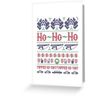 McClane Christmas Sweater Greeting Card