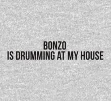 Bonzo is drumming at my house. by TotalPotencia