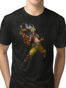 OVERWATCH JUNKRAT Tri-blend T-Shirt
