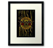 GUNS n ROSES Framed Print