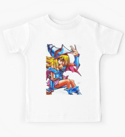 Dark magician girl Kids Tee