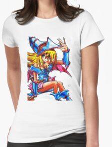 Dark magician girl Womens Fitted T-Shirt