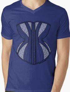 Corset Mens V-Neck T-Shirt