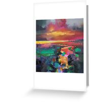 Magenta Rum Greeting Card