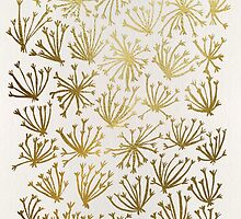 Queen Anne's Lace in Gold by Cat Coquillette