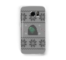Hooded Kermit Christmas Sweater Samsung Galaxy Case/Skin