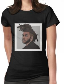 The weeknd 2 Womens Fitted T-Shirt