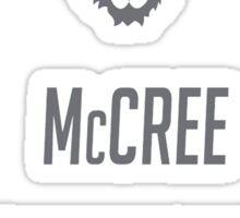 OVERWATCH MCCREE Sticker