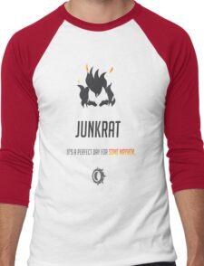 OVERWATCH JUNKRAT Men's Baseball ¾ T-Shirt