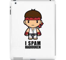 I Spam Hadouken iPad Case/Skin