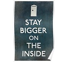 Bigger On the Inside Poster