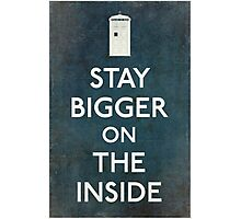 Bigger On the Inside Photographic Print