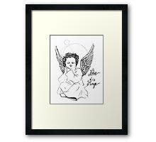 notre ange Framed Print