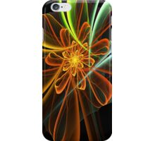 Glowing Bow Flower iPhone Case/Skin