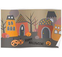Cute Halloween Poster