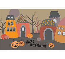 Cute Halloween Photographic Print