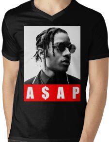 ASAP ROCKY Mens V-Neck T-Shirt