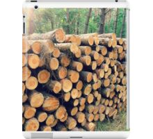 Forest pencils iPad Case/Skin