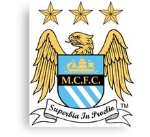 Manchester City FC Canvas Print