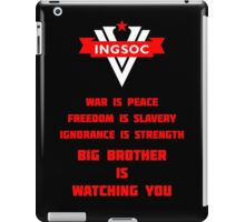 INGSOC Guidelines iPad Case/Skin