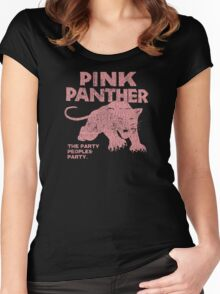 Pink Panther Party Women's Fitted Scoop T-Shirt