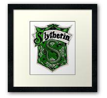 Slytherin Logo Framed Print