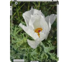 Prickly Poppy Opens Its Eye iPad Case/Skin