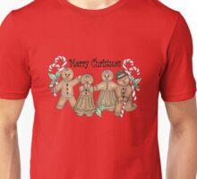 Merry Christmas Gingerbread Friends Unisex T-Shirt