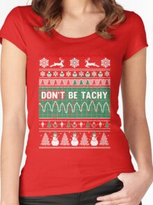 Don't Be Tachy Women's Fitted Scoop T-Shirt