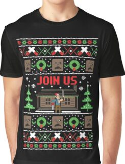 Evil Dead Ugly Sweater Graphic T-Shirt