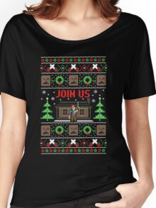 Evil Dead Ugly Sweater Women's Relaxed Fit T-Shirt