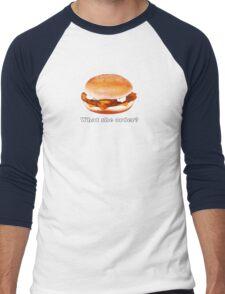 What she order?  Men's Baseball ¾ T-Shirt