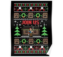 Evil Dead Ugly Sweater Poster