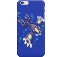 Only Primal Kyogre (Pokemon Alpha Sapphire) iPhone Case/Skin