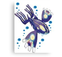 Only Primal Kyogre (Pokemon Alpha Sapphire) Canvas Print
