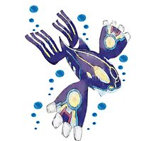 Only Primal Kyogre (Pokemon Alpha Sapphire) Photographic Print