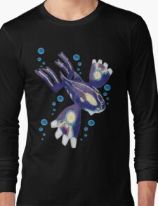 Only Primal Kyogre (Pokemon Alpha Sapphire) Long Sleeve T-Shirt