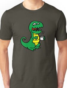 tea rex dino fun  Unisex T-Shirt