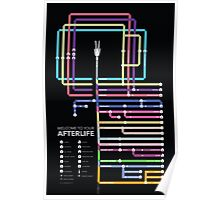 The Afterlife Map Poster